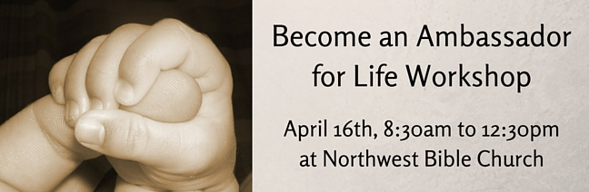 Become an Ambassador for Life Workshop